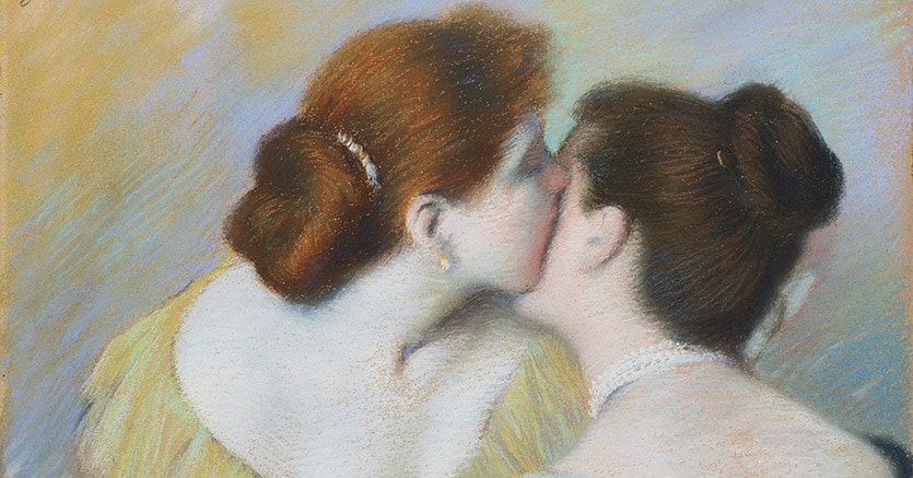 """Federico Zandomeneghi, """"Figure femminili"""", 1894 Valutazione € 70.000,00-80.000,00. Venduto a € 112.500, Courtesy Il Ponte Casa d'Aste"""