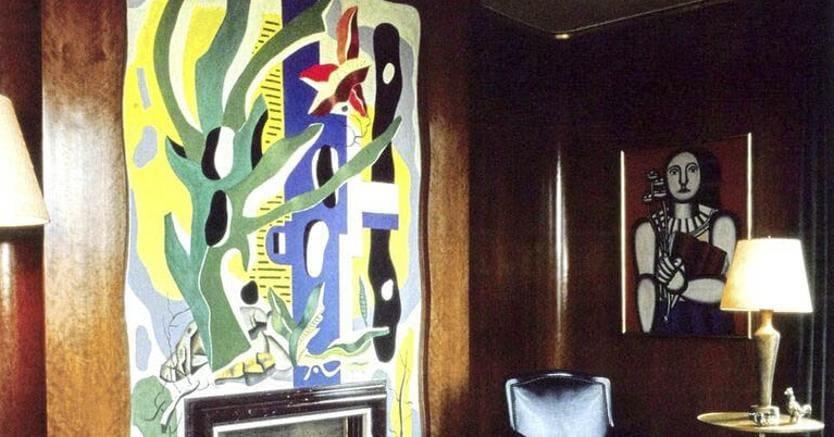 Fernand Léger, il dipinto nell'attico di Rockefeller