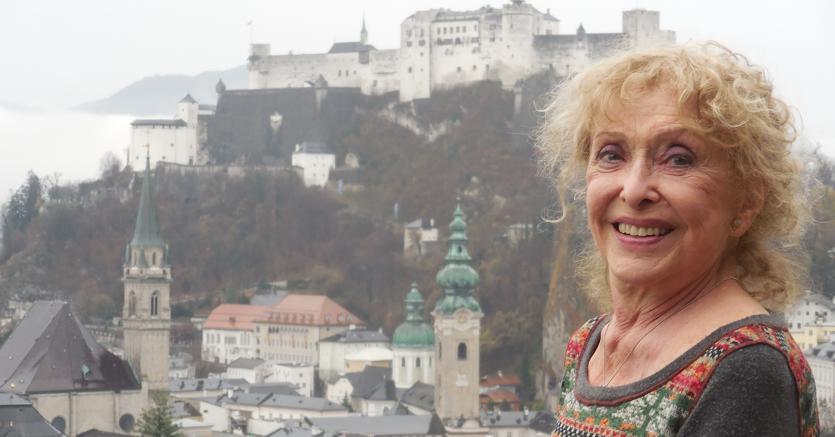 Carolee Schneemann in Salzburg, 2015 (Foto: Andy Archer)