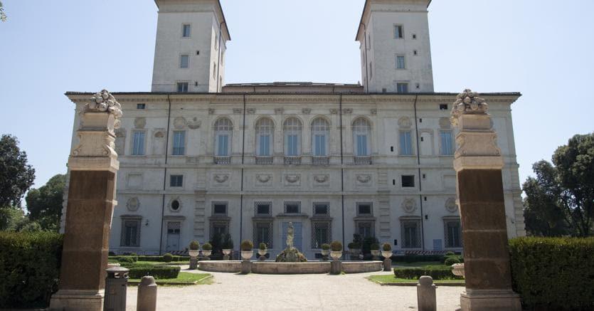 Galleria Borghese, retro, copyright Ministero dei Beni e delle Attività Culturali e del Turismo - Galleria Borghese