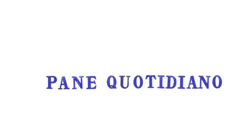 """""""Pane Quotidiano"""" di Liliana Moro, immagine guida realizzata per la Tredicesima Giornata del Contemporaneo fissata sabato 14 ottobre"""