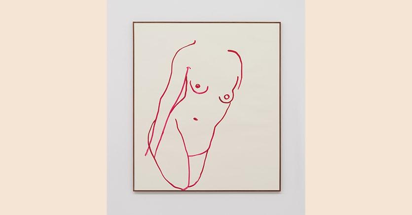 «Vb.dw.127.13»,2013  di Vanessa Beecroft, acquarello su carta, 91,5 x 79 cm, prezzo 24.000 euro + Iva