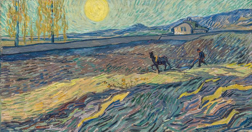 Vincent van Gogh, Laboureur dan un Champ