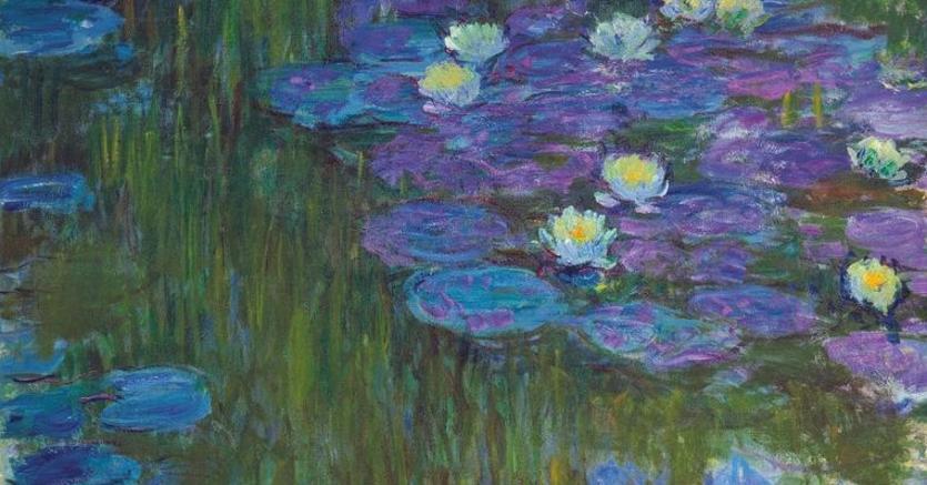 Claude Monet's Nymphéas en fleur.Fonte: Christie's