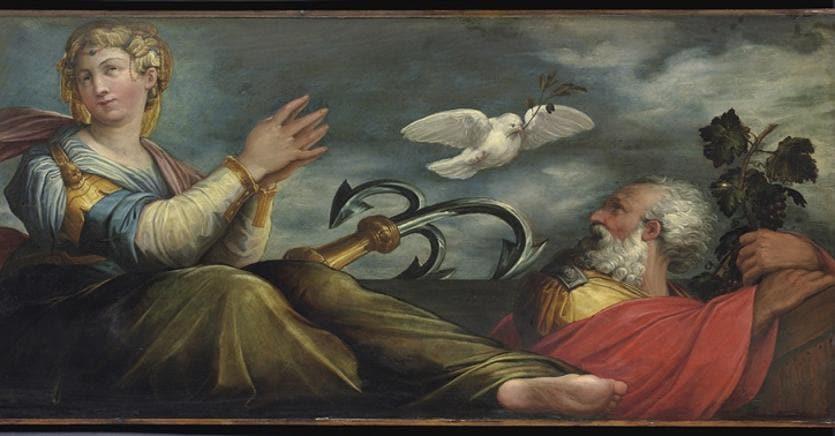 Giorgio Vasari (1511-1574), La Speranza, dipinto su tavola, 1542