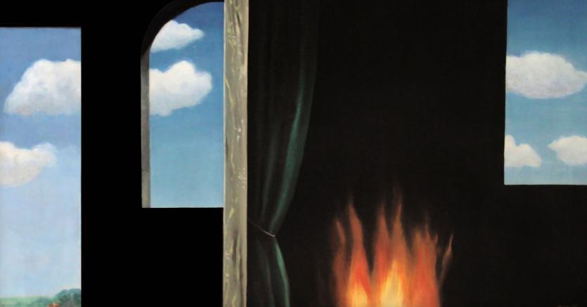 René Magritte «L'oracle», 1931