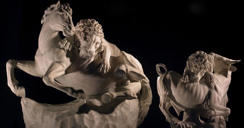 Scultura attribuita a Giovanni Battista Foggini e la sua bottega venduta da Tomasso Brothers