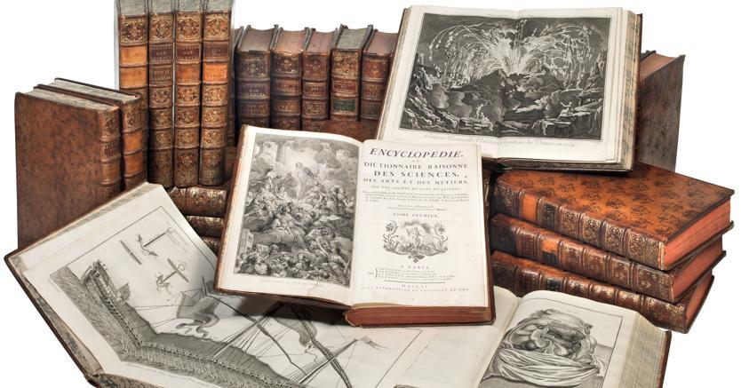 Pandolfini la prima edizione dell'«Encyclopédia» di Denis Diderot del 1751-1765 in 17 volumi
