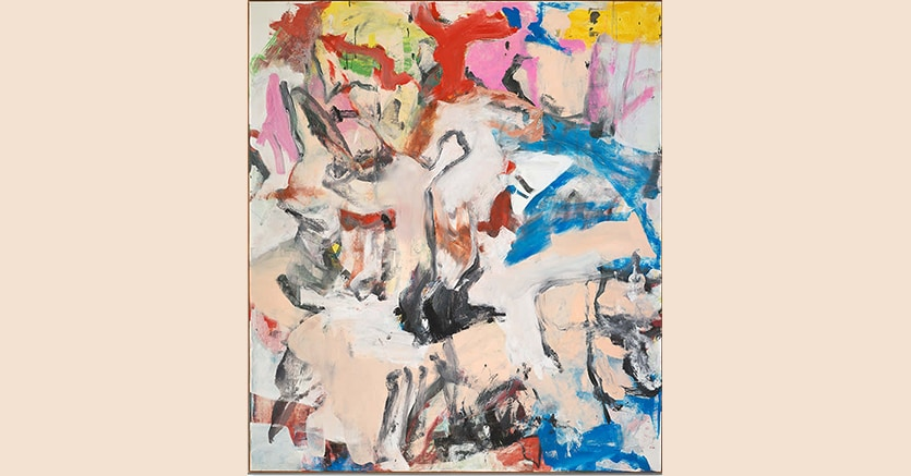 Willem de Kooning, Untitled XII (1975) venduto per 35 milioni di dollari, Lévy Gorvy, Londra, New York