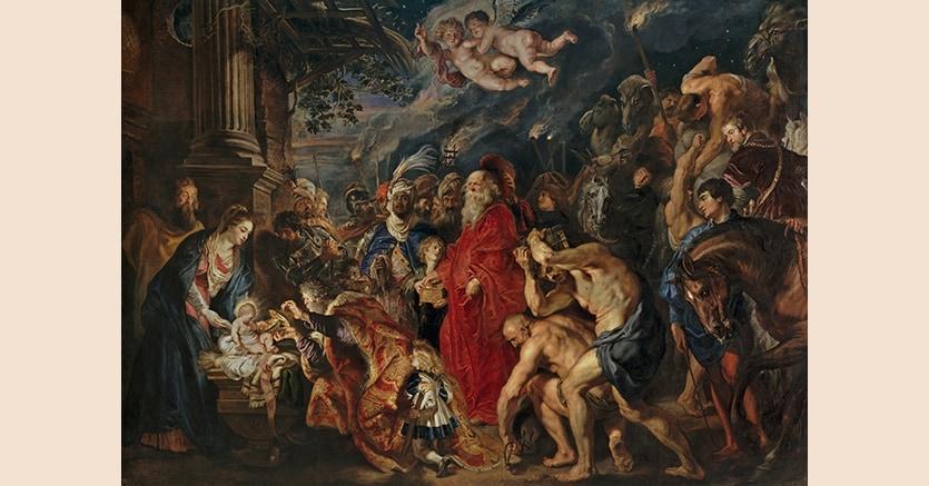 Peter Paul Rubens Adorazione dei Magi Museo del Prado