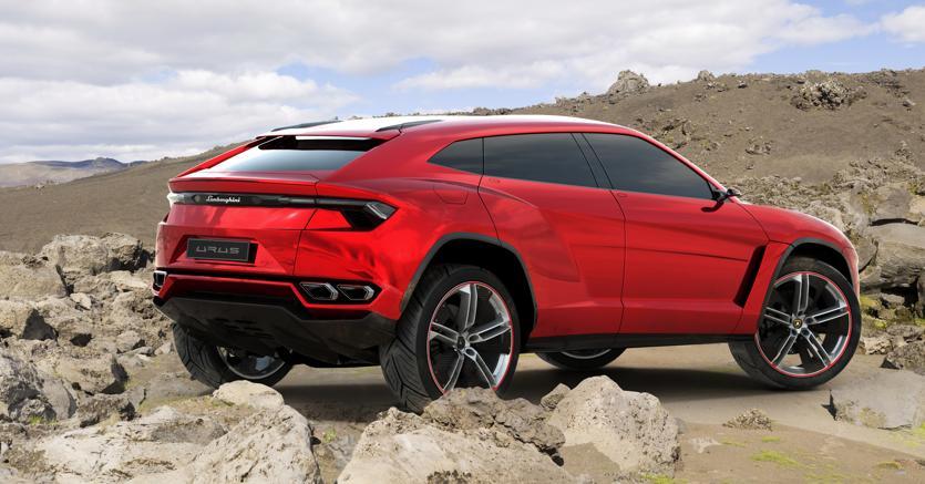 Il prototipo del suv Lamborghini Urus