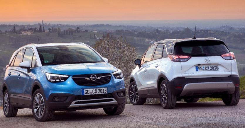 La Opel Crossland X  è uno dei primi progetti derivanti dall'accordo del 2012 tra Opel e Psa