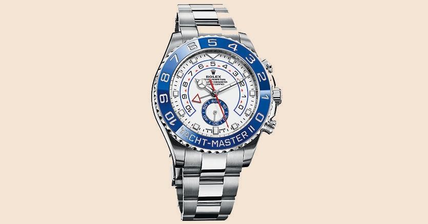 Il nuovo Yacht-Master II, cronografo da regata e long seller di Rolex. Costa circa 17mila euro.