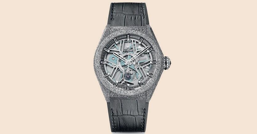 Il Defy Lab ha una cassa del diametro di 44mm realizzata con il nuovo materiale Aeronith e ha appena vinto il Grand prix d'horlogerie de Genève nella categoria dell'orologio più innovativo 2017. Prezzo: circa 30mila euro