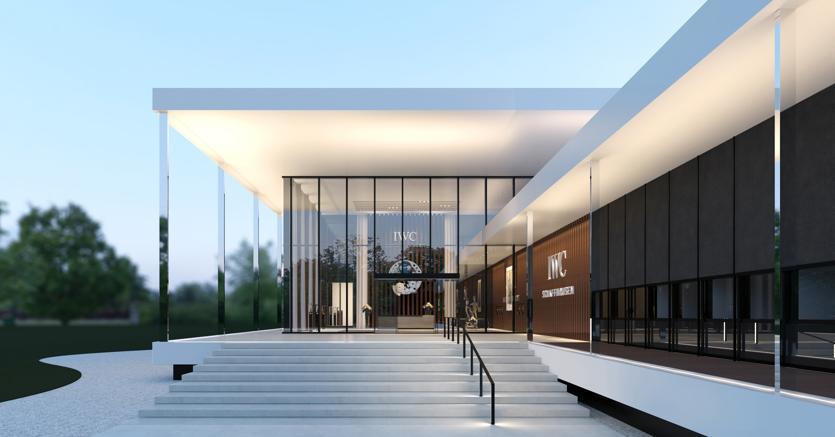 Merishausen.La struttura si estende su 13mila metri quadri ed è costata 42 milioni di franchi