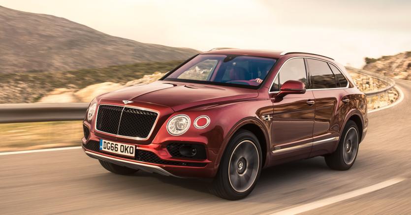 Il modello Bentayga di Bentley