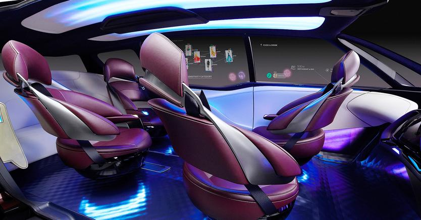 Monovolume ad idrogeno. Svelato al salone di Tokyo a fine ottobre il concept Toyota Fine-ComfortRide ha un motore sistemato su ogni ruota alimentati da fuel cell e 1.000 km di autonomia