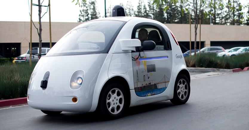 Google car. (Afp)