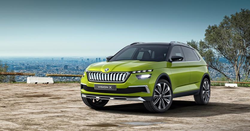 Vision X. Škoda studia con un concept ibrido a metano una doppia alimentazione ecologica