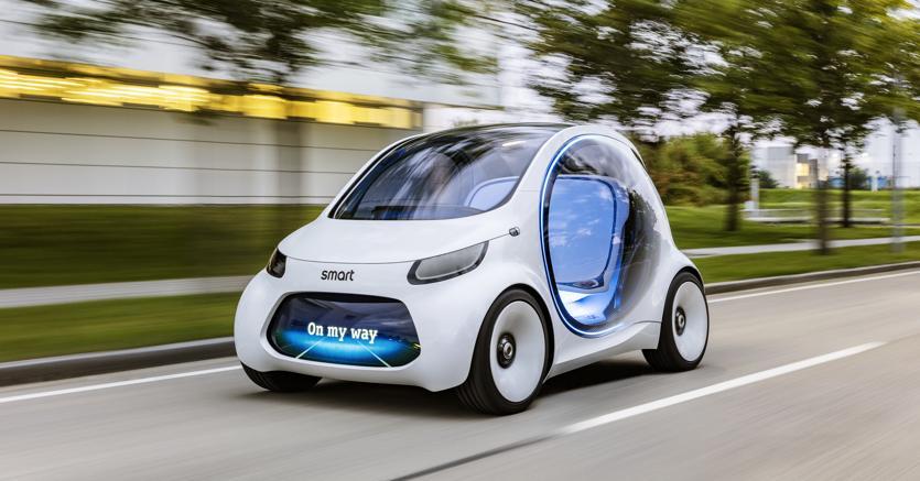 A batteria. Dal 2020 Smart sarà il primo brand nel panorama auto ad offrire solo vetture elettriche