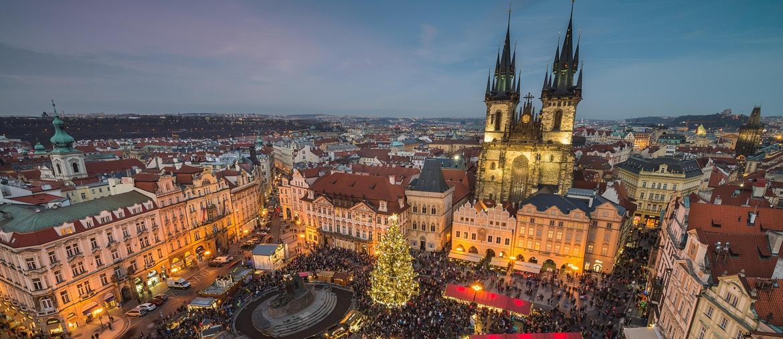 Il mercatino di Natale di Piazza della Città Vecchia (ph IPA)