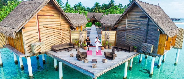 La spa del Constance Moofushi alle Maldive