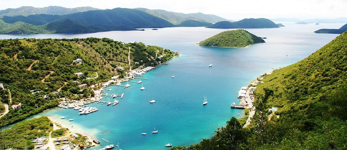 Veduta di Tortola (BVI Tourist Board)