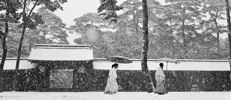 Werner Bischof JAPAN. Tokyo. Courtyard of the Meiji shrine. 1951. (PH Werner Bischof/Magnum Photos)