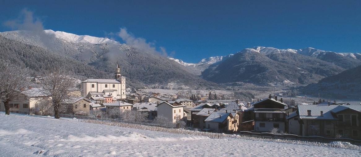 Veduta di Sutrio in inverno (ph Ulderica Da Pozzo)