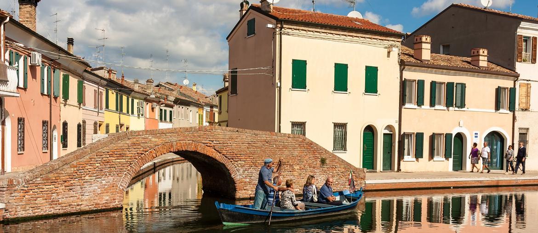 canali di Comacchio (© roberto fantinuoli da Visit Ferrara)