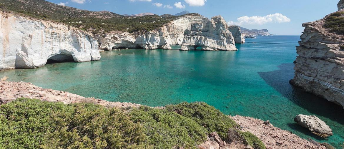 Kleftiko Beach, Milos,Grecia (Fonte TripAdvisor )