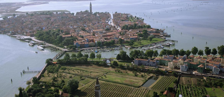Laguna - Isola di Mazzorbo e tenuta Scarpa