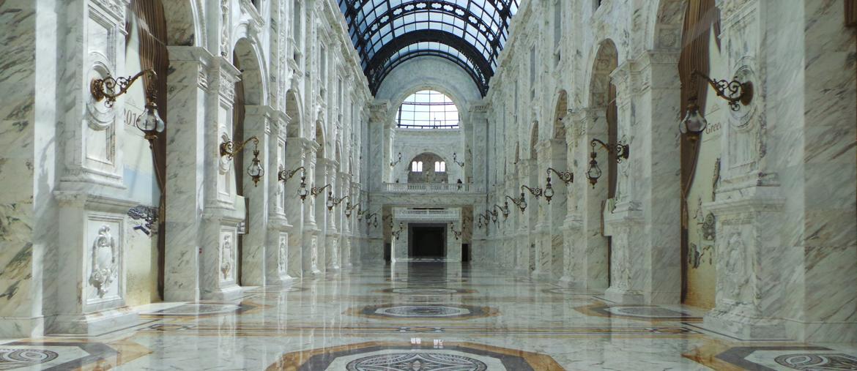 La Galleria Vittorio Emanuele di Milano rifatta nel mall Alhazm di Doha (foto Angela Manganaro)