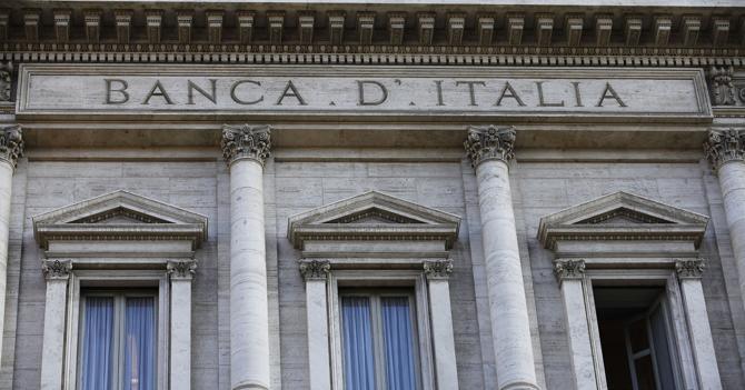 Bankitalia: rischi da difficoltà banche, sì ad aiuto pubblico