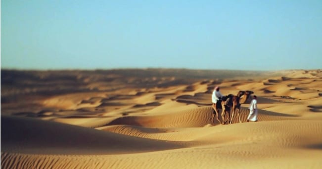 Il deserto dell'Oman