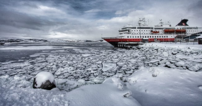 Il postale a Kirkenes (ph Peter Hughes - Guest image )