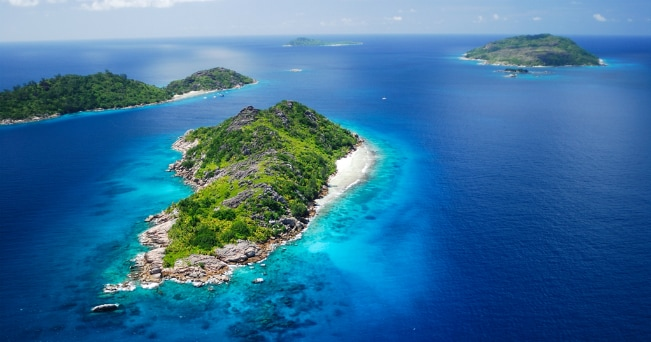 L'isola di Felicitè nelle Seychelles (ph Raymond Sahuquet)