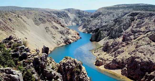 Canyon del fiume Zrmanja, Croazia