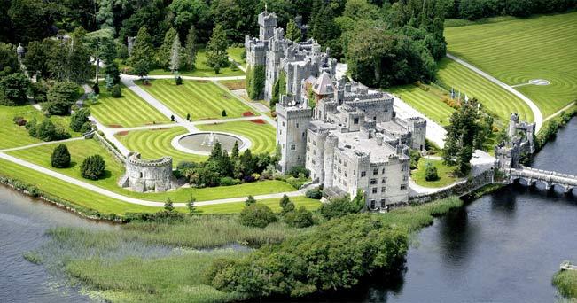 L'Ashford Castle in Irlanda, al quinto posto della classifica di TripAdvisor