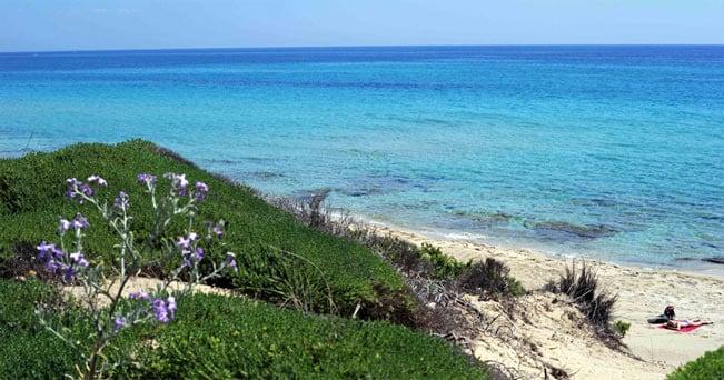 Le dune di Campomarino, in provincia di Taranto (foto De Santis)