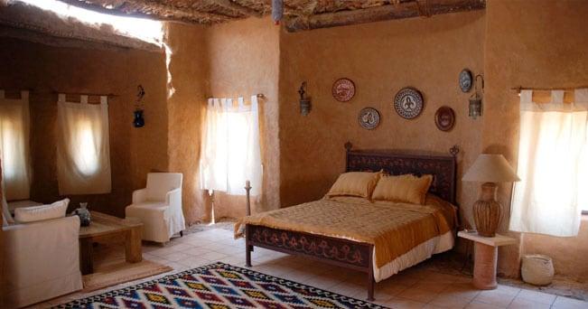 Una stanza del resort Al Tarfa Desert Sanctuary, in Egitto