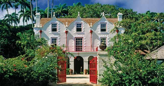 La Plantation House di Saint Nicholas Abbey, una piantagione con rumeria annessa