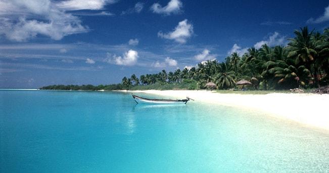 Una spiaggia sulle isole Andamane (foto India Tourism)