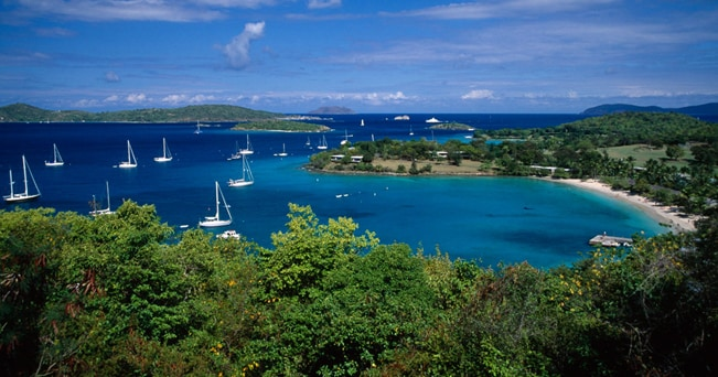 Paesaggio di Dominica (foto Eye Ubiquitous / Alamy / Milestone Media)