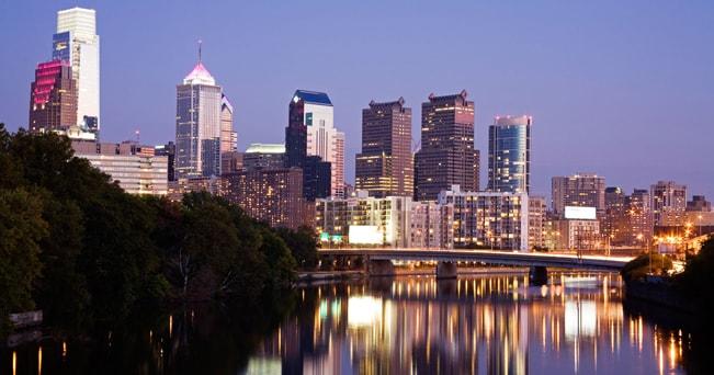 Veduta di Philadelphia (foto Alamy/Milestone Media)