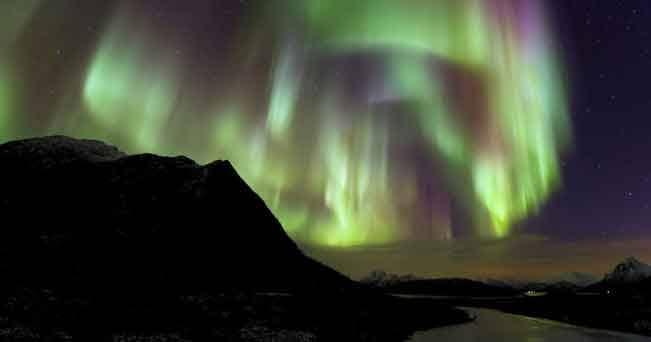 Lapponia, la magia dell'aurora boreale