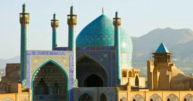 La cupola della Moschea dell'Iman di Isfahan (foto Milestone Media)