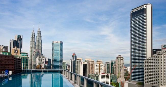 Veduta di Kuala Lumpur, in Indonesia (foto Milestone Media)