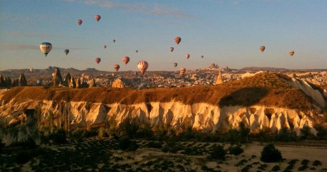 Veduta della Cappadocia (foto Milestone Media)