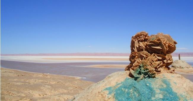 Il deserto salato di Chott El Jérid (foto Ente Nazionale Tunisino per il Turismo)